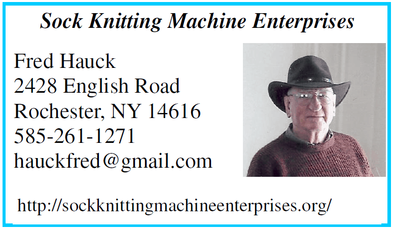 Sock Knitting Machine Enterprises